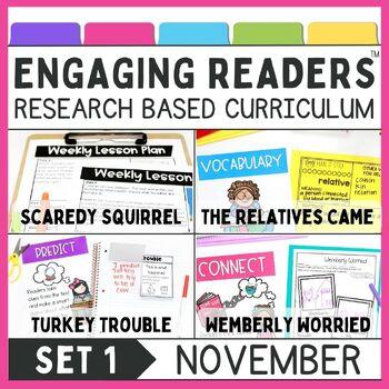 Guiding Readers: November NO PREP ELA Unit for K-1