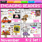 Guiding Readers: November NO PREP ELA Unit for K-1