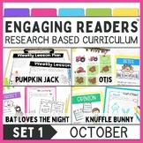 Guiding Readers: October NO PREP ELA Unit for K-1