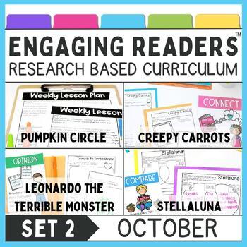 Guiding Readers: October SET TWO NO PREP ELA Unit for K-1