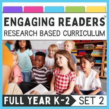 Guiding Readers: SET TWO YEAR LONG BUNDLE NO PREP ELA Units for K-1