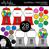 Gumball Machines {Graphics for Commercial Use}