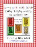 Gummy Bear Sorting, Tallying, Graphing & Analyzing Data Ma