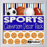 Sports Classroom Decor Materials Pack