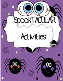 HALLOWEEN  Activity Pack!!!