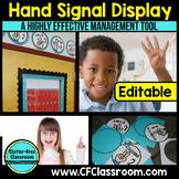 HAND SIGNALS: A Classroom Management Resource