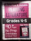 *HARD COPY* Practice & Assess READING LITERATURE Grades 4-5