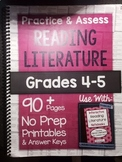*HARD COPY* Practice & Assess READING LITERATURE Grades 4-5