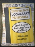 HARD COPY UPGRADE Interactive Vocabulary Notebooks