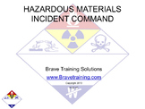 HAZMAT INCIDENT COMMAND