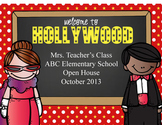 HOLLYWOOD - PowerPoint, Open House, Curriculum Night, Meet