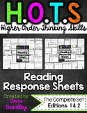 HOTS Reading Response Sheets {THE COMPLETE PACKAGE}