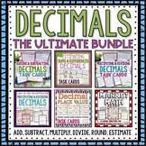 HUGE Decimals Bundle Pack Add, Subtract, Multiply, Divide,