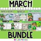 HUGE March Bundle! 5 PACKS IN 1 (Morning Work, Math & Lite