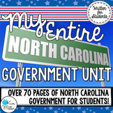 My Entire North Carolina Government Unit (BUNDLE)