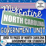 My Entire North Carolina Government Unit (BUNDLE)