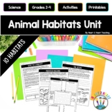 Habitats Activity Pack