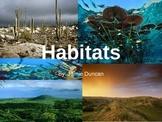 Habitats Slide Show - rainforest ocean grassland freshwate