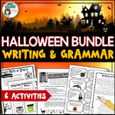 Halloween Activity Bundle - Writing, Grammar & Poetry