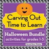 Halloween Activity Bundle for Grades 1-4