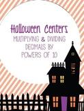 Halloween Activity Set: Multiplying and Dividing Decimals