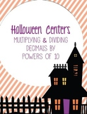 Halloween Activity Set: Multiplying and Dividing Decimals