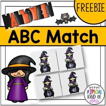 Halloween Alphabet Order