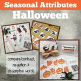 Halloween Attributes Game:  Compare/Contrast (includes Car