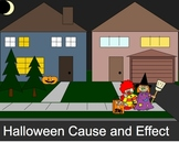 Halloween Cause and Effect Smartboard Lesson