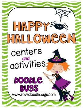 Halloween Centers and Activities