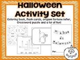 Halloween Coloring Activities in Spanish