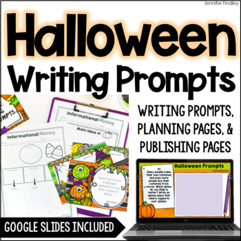 Halloween Common Core Writing: Opinion, Informative, and N