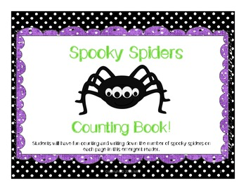 Halloween Counting/Emergent Reader