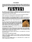 Halloween Ghost Story: Philinnion (Latin II or III)