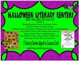 Halloween Literacy Centers- Common Core Aligned