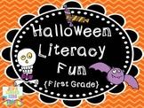 Halloween Literacy Fun {First Grade}