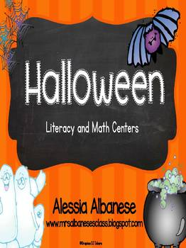Halloween Literacy and Math Activities
