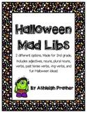 Halloween Mad Libs