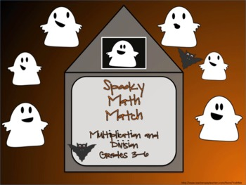 Halloween Math Activities for Multiplication and Division