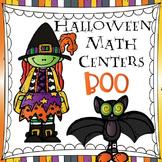 Halloween Math Centers - Boo!
