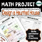 Halloween Math Project--Design a Haunted House