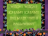 Halloween Math Unit by Oh Boy 4th Grade
