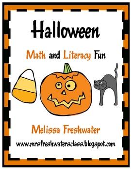 Halloween Math and Literacy Fun