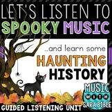 Halloween Music Presentation with Video Links