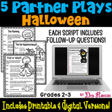 Halloween Partner Plays (five 2-person scripts to improve