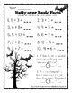 Halloween Primary Math Worksheet collection