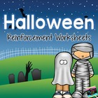 Halloween Reinforcement Worksheets