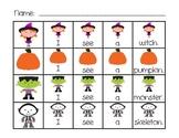 Halloween Sentence Building Activities for Kindergarten an