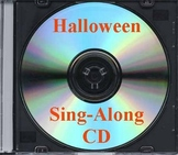 Halloween Songbook CD - a CD for teachers without a piano!