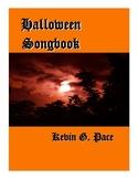 Halloween Songbook Sheet Music (PDF download)